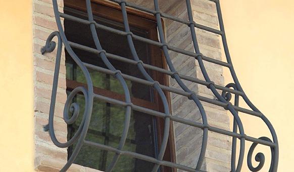 Grate di sicurezza galimberti - Modelli di grate per finestre ...